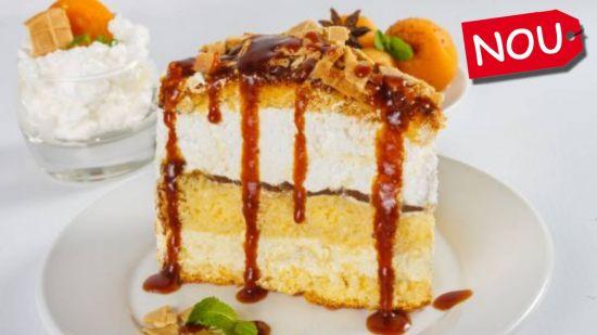 Tort Winter Caramel - Felie